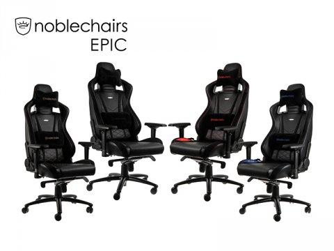 ドイツ発の人気ゲーミングチェア「noblechairs EPIC」に新たなカラーバリエーションモデルが追加