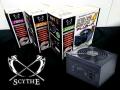 奥行き125mm、Scytheから超ショートサイズの80PLUS BRONZE認証ATX電源ユニット「剛短4 プラグイン」シリーズ