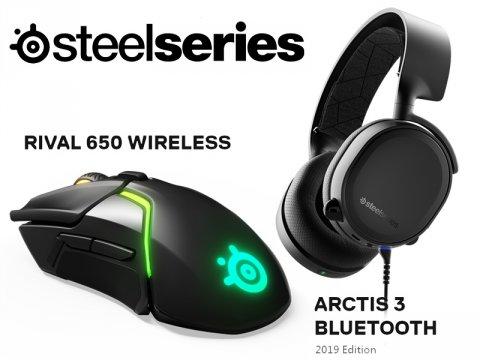 SteelSeriesからワイヤレス仕様のゲーミングデバイス新機種2モデルが同時発売