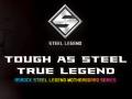 ASRockから耐久性重視の新シリーズSteel Legend登場、第一弾はRyzen AM4対応ATXマザーボード「B450 Steel Legend」