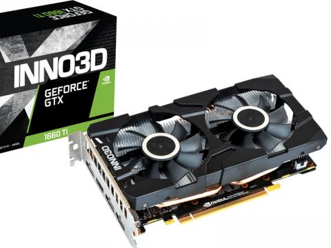 カード長196mm、デュアルファン搭載でコンパクトなGTX1660Ti搭載グラフィックカード「GeForce GTX 1660 Ti Twin X2」がINNO3Dから