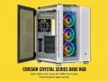 内部を左右にセパレート、分離構造の大型キューブケース「Crystal 680X RGB」シリーズがCORSAIRから