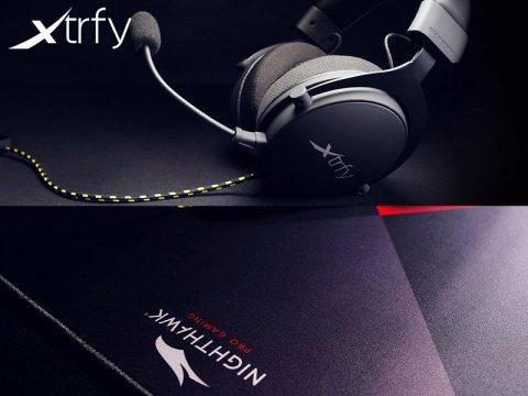 Xtrfyからゲーム向けヘッドセットとマウスパッドの新モデルが発売