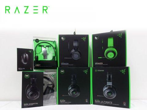 Razerから、新シリーズを含めたゲーミングヘッドセット計6機種とゲーミングマウス「Basilisk Essential」が一斉発売