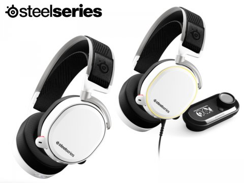 SteelSeriesのプレミアムゲーミングヘッドセット「Arctis Pro」にカラーバリエーションモデルが登場