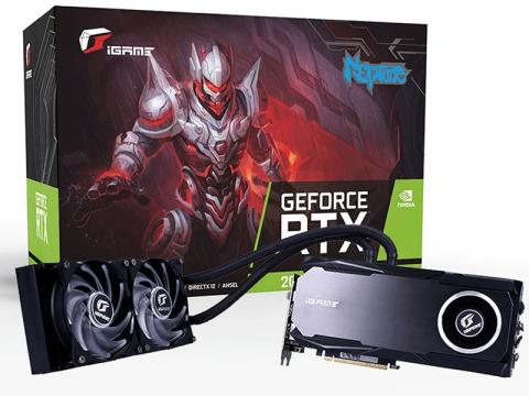 240mm大型ラジエータ採用、簡易液冷システム搭載RTX2080Tiグラフィックスカード「iGame GeForce RTX 2080 Ti Neptune OC」がColofulから