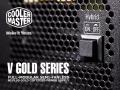 コンパクトでフルモジュラー方式、10年保証付帯の80PLUS GOLD ATX電源「V Gold」シリーズがクーラーマスターから