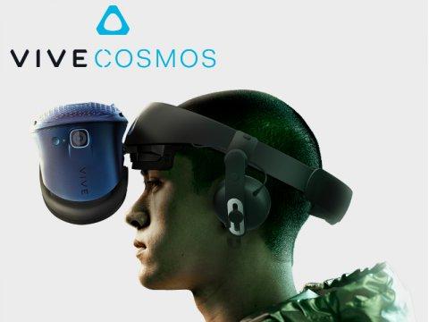 現在と未来のために設計された新しいVRヘッドマウントディスプレイ「VIVE Cosmos」絶賛発売中!
