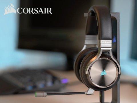 Corsairからハイレゾ対応モデルなどゲーミングヘッドセットが多数発売