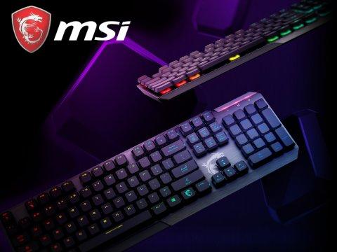 MSIより薄型ゲーミングキーボード「Vigor GK50 Low Profile JP」が発売
