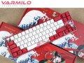 Varmilo製のお洒落なデザインのコンパクトキーボードと大判マウスパッドが入荷