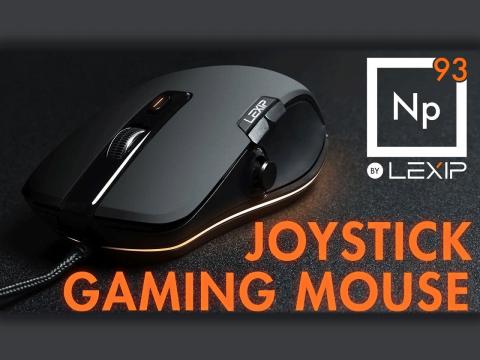 Lexipから3Dジョイスティックを搭載したマウス「Np93」が発売