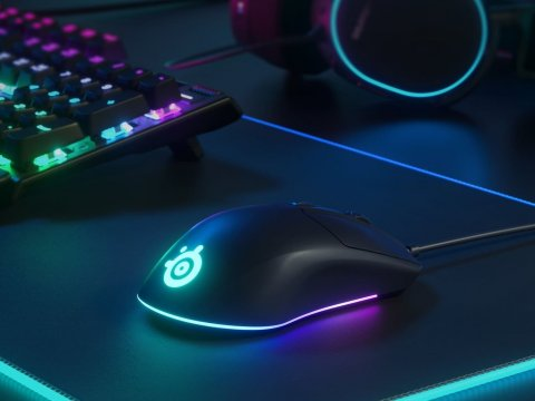 Steelseriesからエントリーモデルマウスとキーボードが発売