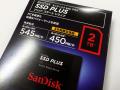 SanDisk、コスパに優れた2.5インチ SATA SSD「SSD PLUS」シリーズに大容量2TBモデルが登場