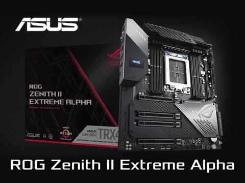 ASUSからOC耐性を強化したTRX40チップセット搭載「ROG ZENITH II EXTREME ALPHA」が発売
