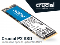 Crucialから3D QLC NAND採用PCIe 3.0 NVMe「P2」シリーズSSDが登場