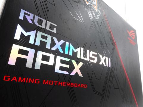 第10世代インテルプロセッサー向けオーバークロックに特化したX字型基板採用Z490マザーボード「ROG MAXIMUS XII APEX」がASUSから登場