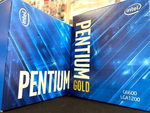 デスクトップ向け「Comet Lake-S」のPentium Gシリーズに上位モデルG6500、G6600が追加ラインアップ