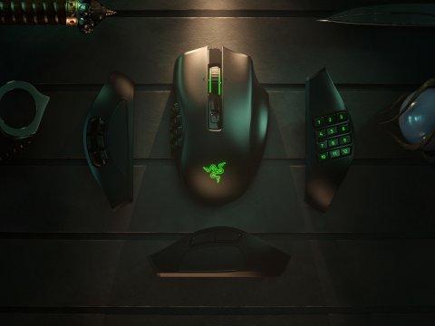 サイドプレートを取り替える拡張性の高いワイヤレスマウス「Razer Naga Pro」が発売!