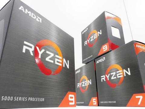 AMD Ryzen 5000シリーズプロセッサー各種販売開始