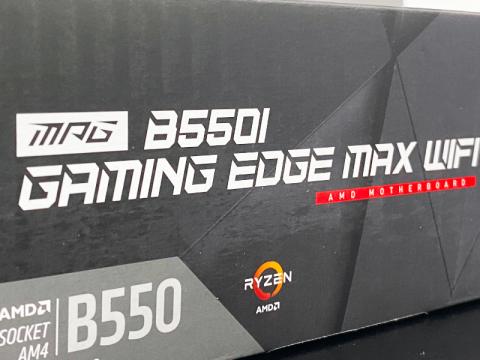MSIからB550チップセットを搭載したMini-ITXマザーボード「MPG B550I GAMING EDGE MAX WIFI」が登場
