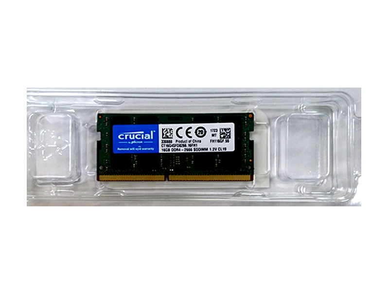 Crucial CT16G4SFD8266 2666 SO 16GB 02 PCパーツ PCメモリー ノート用