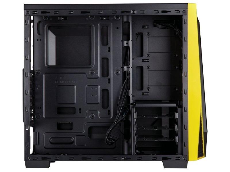 Corsair CC-9011108-WW SPEC-04 Black/Yell 02 PCパーツ PCケース | 電源ユニット PCケース