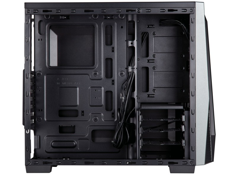 Corsair CC-9011109-WW SPEC-04 Black/Grey 02 PCパーツ PCケース | 電源ユニット PCケース