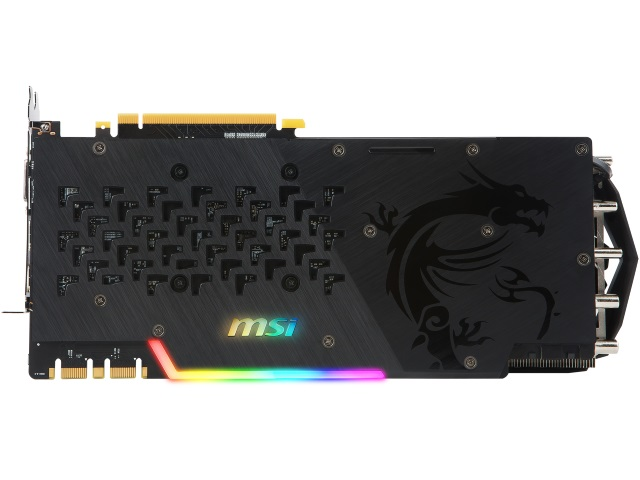 MSI GEFORCE GTX 1080 Ti GAMING X TRIO 02 PCパーツ グラフィック・ビデオカード PCI-EXPRESS