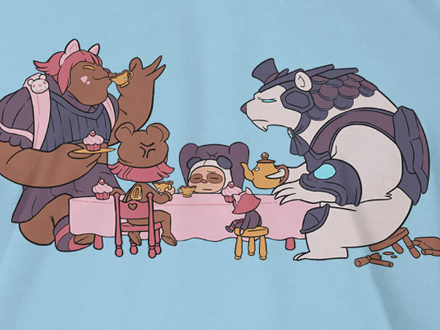 League of Legends Volibear Teaparty T(L) 02 ゲーム その他・趣味 ゲーム関連グッズ APPAREL