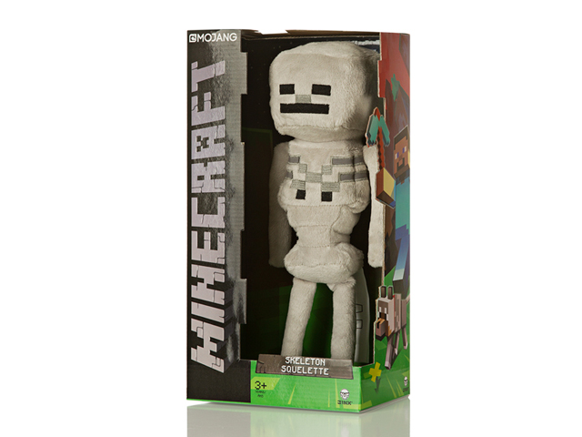 Minecraft 12 Skeleton Plush W Hang Tag 02 ゲーム その他・趣味 ゲーム関連グッズ ACCESSORIES