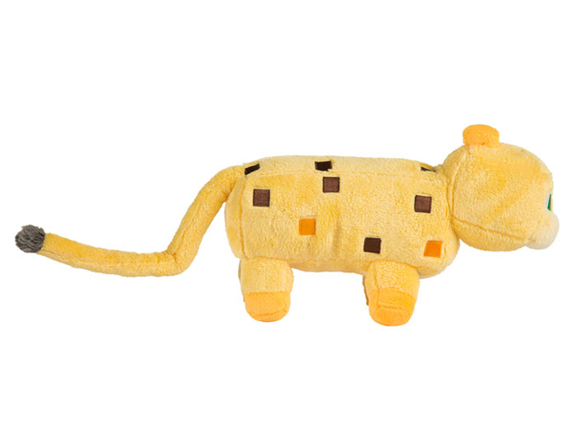 "Minecraft 14 Ocelot Plush W Hang Tag"" 02 ゲーム その他・趣味 ゲーム関連グッズ ACCESSORIES"