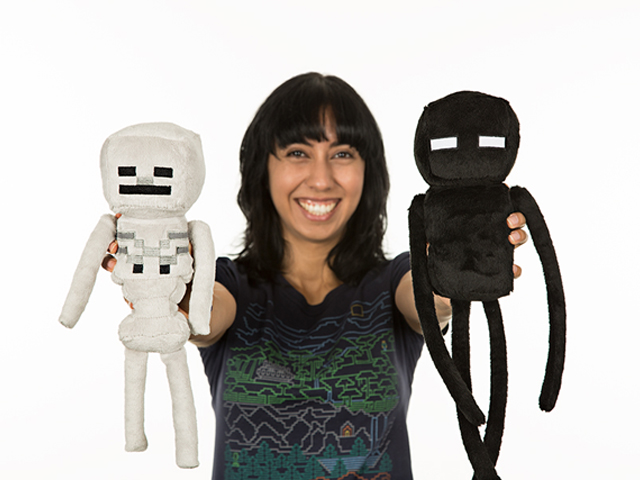 Minecraft 12 Skeleton Plush W Hang Tag 03 ゲーム その他・趣味 ゲーム関連グッズ ACCESSORIES