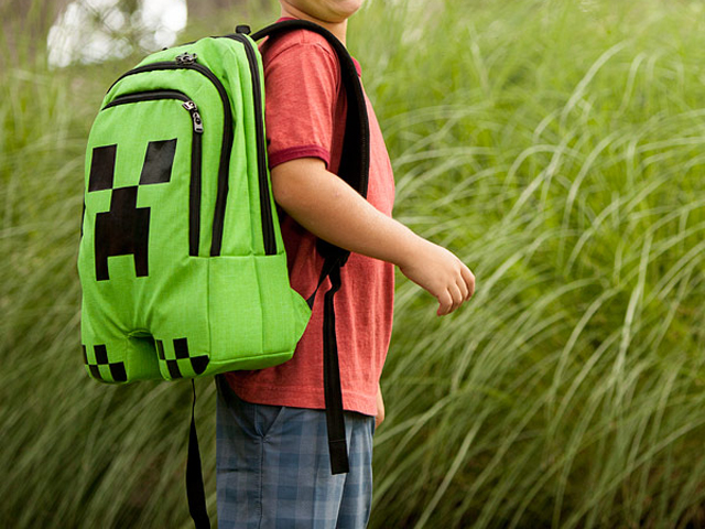 Minecraft Creeper Backpack 03 ゲーム その他・趣味 ゲーム関連グッズ ACCESSORIES