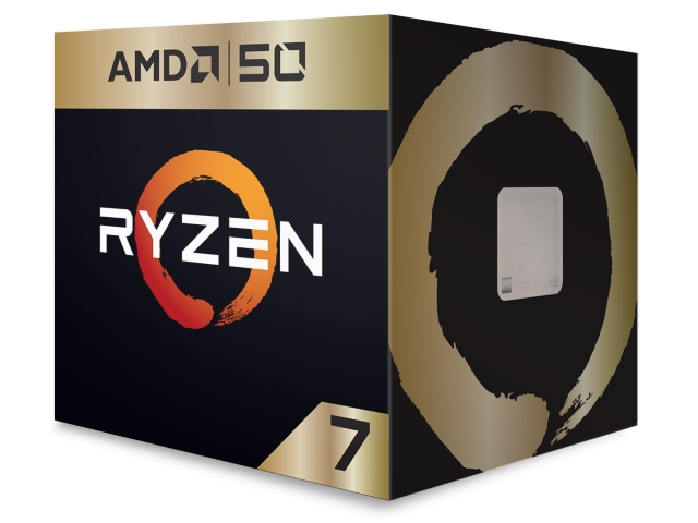 Ryzen 7 2700X Gold Edition (50th Anniversary) BOX