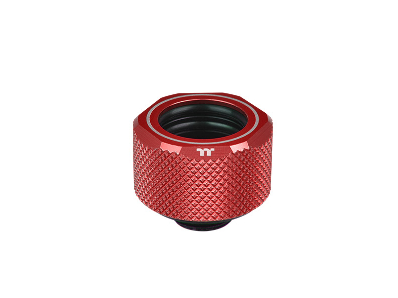 Pacific C-Pro G1/4 PETG 16mm OD Compression - Red -