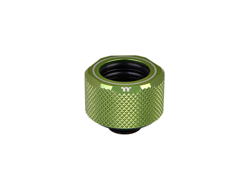 Pacific C-Pro G1/4 PETG 16mm OD Compression - Green -