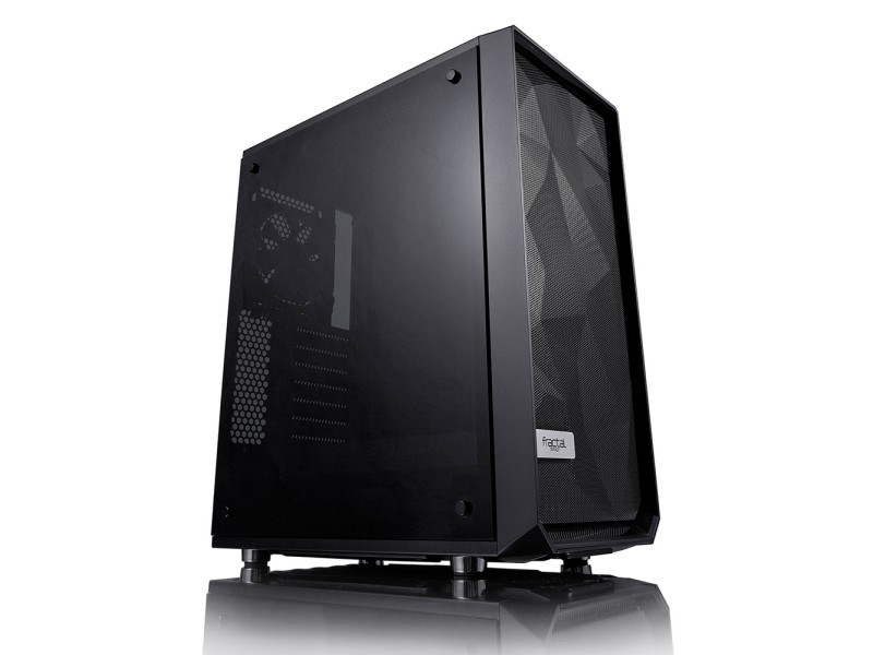 Meshify C Blackout Tempered Glass
