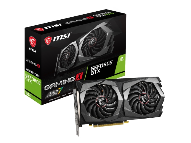 MSI GeForce GTX 1650 GAMING X 4G 01 PCパーツ グラフィック・ビデオカード PCI-EXPRESS