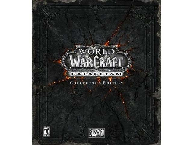 World of WarCraft: Cataclysm Collector's 01 ゲーム ソフト PCゲーム | ゲームソフト MMO(ネットワーク)