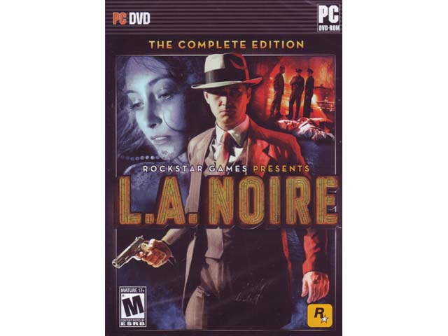 L.A. Noire: The Complete Edition 01 ゲーム ソフト PCゲーム | ゲームソフト アクション