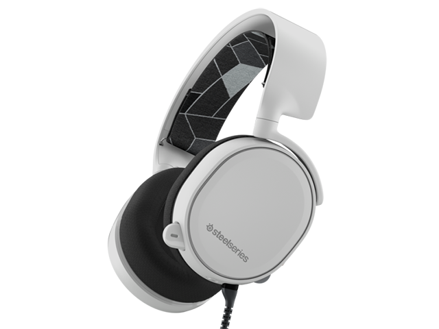 SteelSeries Arctis 3 White 61434 01 ゲーム ゲームデバイス ヘッドセット
