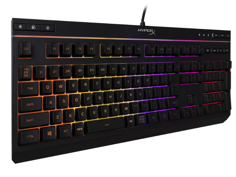 HyperX Alloy Core RGB - Membrane Gaming Keyboard(日本語配列版)