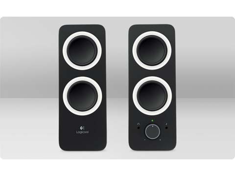 Logicool Multimedia Speakers Z200 ブラック (Z200BK)