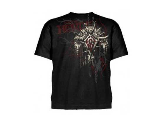 WoW Horde Crest Version 2 T-Shirt (L-Size)