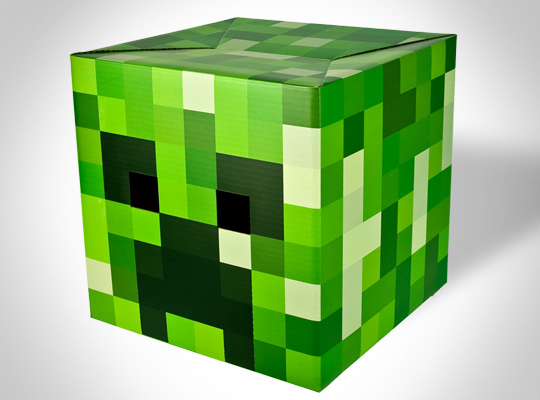 Minecraft Creeper Head V2