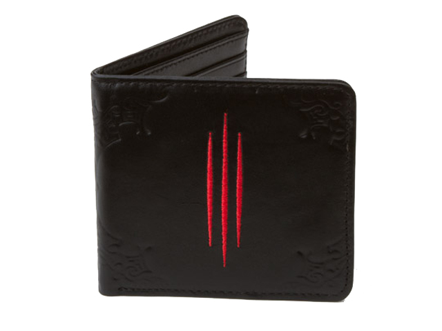 Diablo III Logo Leather Wallet 01 ゲーム その他・趣味 ゲーム関連グッズ ACCESSORIES