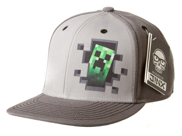 Minecraft Creeper Inside Snap Back Hat
