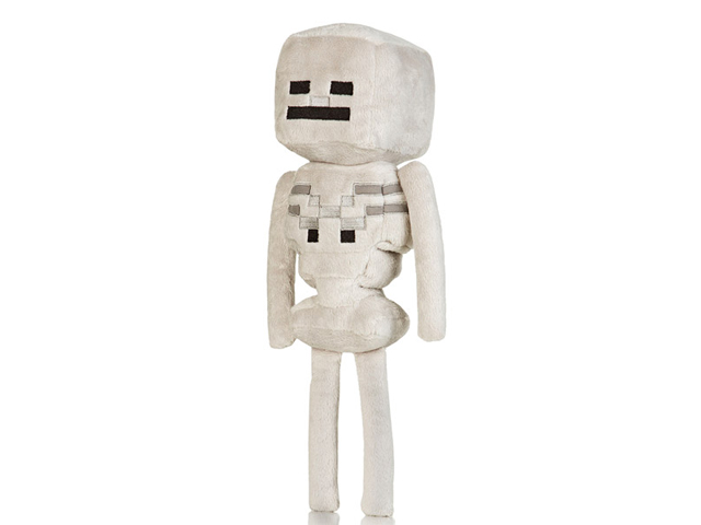 Minecraft 12 Skeleton Plush W Hang Tag 01 ゲーム その他・趣味 ゲーム関連グッズ ACCESSORIES
