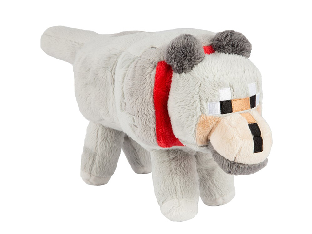 Minecraft 15inc Wolf Plush